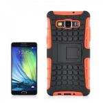 Hybrid Case 2 teilig Robot Orange Cover Hülle für Samsung Galaxy A3 A300 A300F