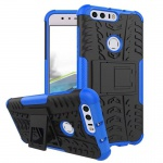 Hybrid Case 2teilig Outdoor Blau für Huawei Honor 8 Tasche Hülle Cover Neu Etui