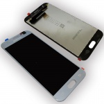Display Full LCD Komplettset GH96-10992A Silber für Samsung Galaxy J3 2017 J330F