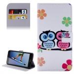 Tasche Wallet Premium Muster 12 für Huawei Honor 5A / Y6 2 II Bookcover Hülle