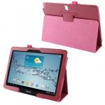 Schutzhülle Hülle Case Pink für Samsung Galaxy Note 10.1 2014 P600 P605 + Folie