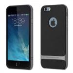 Original ROCK Silikon Case Schwarz / Grau für Apple iPhone 6 Plus Hülle Tasche