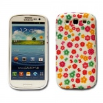 Backcover Motiv 8 für Samsung Galaxy S3 i9300 Zubehör Silikon Schutz + Folie Neu