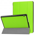 Smartcover Grün Cover Tasche für Huawei MediaPad T3 10 Hülle Etui Case Zubehör