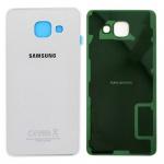 Samsung GH82-11020C Akkudeckel für Galaxy A5 2016 A510F + Klebepad Adhesive Weiß