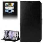 Schutzhülle Schwarz für Huawei Ascend Mate 2 4G Bookcover Tasche Hülle Wallet