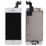 All in One Display LCD Komplett Ersatz Touch kompatibel Apple iPhone 5S Weiß Neu