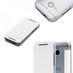 Original Rock Smartcover Weiss für HTC One Mini 2 2014 Hülle Case Cover Neu