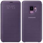 Samsung LED View Cover Schutz Tasche EF-NG960PVEGW für Galaxy S9 Hülle Lila Etui