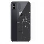 0, 3 mm H9 Hartglas Rückseite Akkudeckel für Apple iPhone X / 10 / XS 5.8 Folie