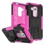 Hybrid Case 2teilig Outdoor Pink für Huawei Nova Plus Tasche Hülle Cover Schutz