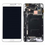 Display LCD GH97-15209E Weiß-Gold für Samsung Galaxy Note 3 N9005 Reparatur Neu