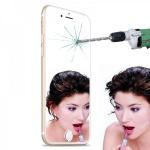 Premium 0, 26 mm dünne H9 Spiegel Panzerglasfolie Folie für Apple iPhone 6 4.7