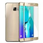 0, 3 mm H9 gebogenes Panzerglas Gold Folie für Samsung Galaxy S7 Edge G935 F