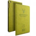 Design Tasche Backcase Smartcover Grün für Apple iPad Air 1 / Air 2 Hülle Neu