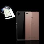 Silikoncase Transparent Tasche + 0, 3 H9 Hartglas für Sony Xperia X 5 Zoll Case