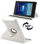 Hochwertige Tasche 360 Grad Weiss für Asus Fonepad 7 Hülle Case Kunstleder Neu
