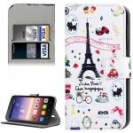 Schutzhülle Muster 42 für Huawei Ascend Y625 Bookcover Tasche Hülle Wallet Case