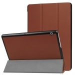 Smartcover Braun Cover Tasche für Huawei MediaPad T3 10 Hülle Etui Case Zubehör