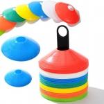 Markierungshütchen Hütchen Fußball Training 50er Set 4 farbig Markierteller TOP