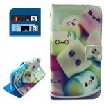 Schutzhülle Muster 43 für Alcatel One Touch Pop C7 Bookcover Tasche Hülle Wallet