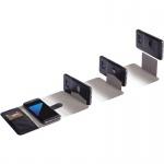 Ekero FolioWallet 2in1 Tasche Hülle f. Samsung Galaxy S8+ Schutzhülle Etui Black