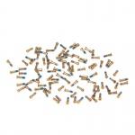 100x Ersatzschrauben Schrauben Set für Apple iPhone 6S / 6S Plus Ersatz Gold Neu