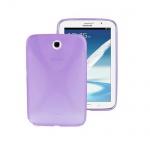 Schutzhülle X-Line Lila Tasche für Samsung Galaxy Note 8.0 N5100 N5110 + Folie