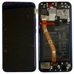 Huawei Display LCD Rahmen für P Smart Plus Service 02352BUH Lila Batterie Akku
