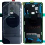 Samsung GH82-15865D Akkudeckel Deckel für Galaxy S9 G960F + Klebepad Blau Neu
