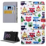 Tasche Wallet Premium Muster 15 für Sony Xperia X 5 Zoll F5121 Bookcover Hülle