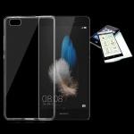 Silikoncase Transparent Tasche + 0, 3 H9 Panzerglas für Huawei P9 Lite Hülle Neu