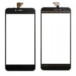 Reparatur Displayglas Touch Screen für Wiko Upulse Lite LCD Reparatur Schwarz