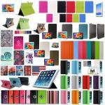 Schutzhülle Kunstleder Tasche für Tablet eBook PDA Smart Cover Hülle Case Etui