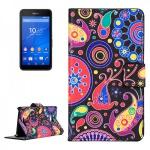 Schutzhülle Muster 8 für Sony Xperia E4G Bookcover Tasche Hülle Wallet Case