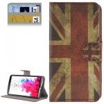 Wallet Hülle Tasche Muster 9 für LG Optimus G3 D850 Cover Case Etui Schutz Neu