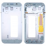 Mittelrahmen Kamera Gehäuse für Samsung Galaxy A7 2017 A720F Reparatur Blau Neu