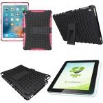 Hybrid Outdoor Schutzhülle Pink für iPad Pro 9.7 Tasche + 0.4 H9 Panzerglas Case