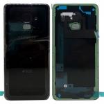 Samsung GH82-15557A Akkudeckel Deckel für Galaxy A8 A530F 2018 Klebepad Schwarz