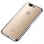 Premium TPU Schutzhülle Schwarz für Huawei Honor 8 Tasche Backcover Silikon Neu