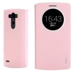 Original ROCK Smartcover Rosa für LG Optimus G3 D850 Tasche Cover Case Hülle