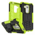 Hybrid Case 2teilig Outdoor Grün für Huawei Nova Plus Tasche Hülle Cover Schutz