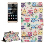 Schutzhülle Muster 42 für Huawei Ascend P8 Bookcover Tasche Hülle Wallet Case
