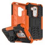 Hybrid Case 2teilig Outdoor Orange für Huawei Nova Plus Tasche Hülle Cover Neu