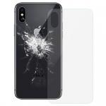 Ersatz Scheibe Backcover Transparent für Apple iPhone X / 10 Reparatur Ersatz