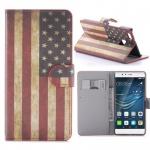 Schutzhülle Muster 10 für Huawei P9 Lite Bookcover Tasche Case Hülle Wallet Etui