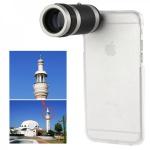 Kamera Foto Telescope für Apple iPhone 6 4.7 Hülle Case 8x Objektiv Zubehör Neu