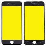 Display Glas für Apple iPhone 7 Plus 5.5 LCD Displayglas Rahmen OCA Kleber Black