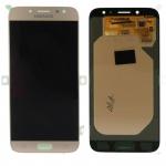 Display LCD Komplettset GH97-20736C Gold für Samsung Galaxy J7 J730F 2017 Ersatz