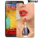 Spiegel Displayschutzfolie für Samsung Galaxy Note 3 N9000 N9005 + Poliertuch